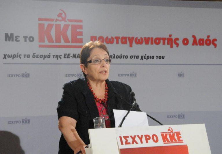Α.Παπαρήγα: «Αν ο ΣΥΡΙΖΑ έλθει δεύτερο κόμμα θα πει ότι φταίμε εμείς»   Newsit.gr