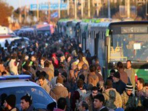 Συρία: Νέα εκεχειρία; Λεωφορεία μεταφέρουν αμάχους από το Χαλέπι [pics]