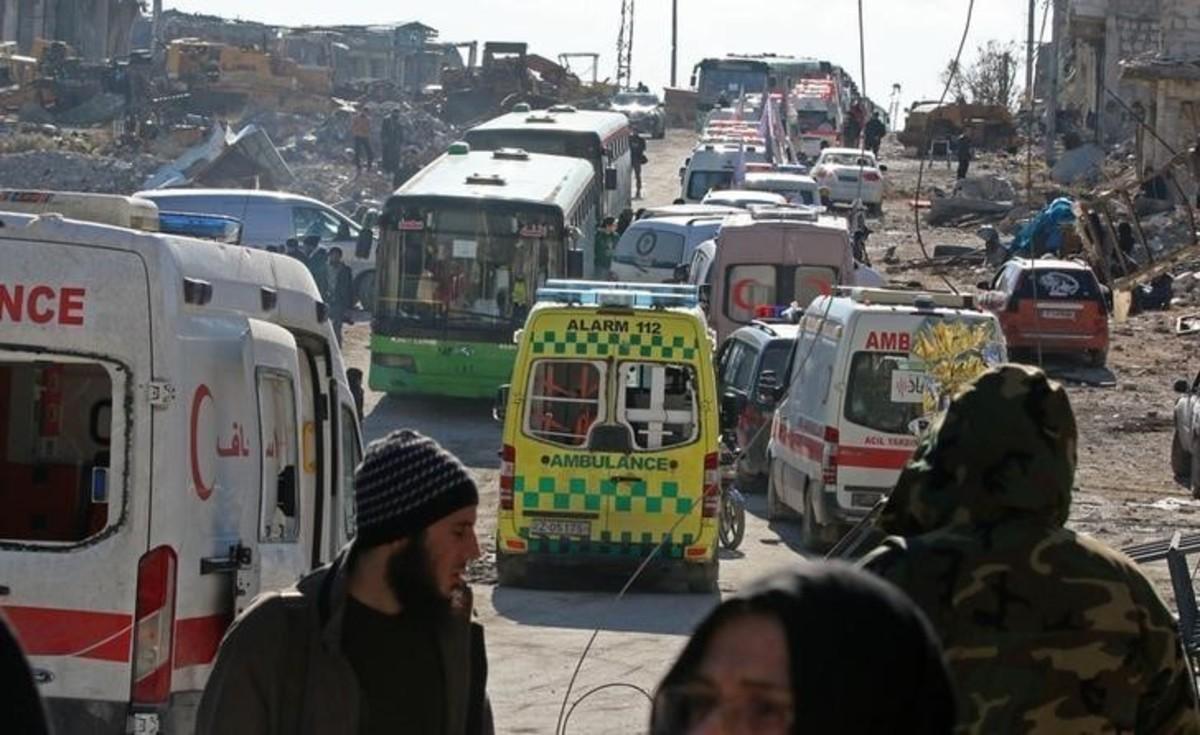 Επανέναρξη της εκκένωσης στο Χαλέπι | Newsit.gr