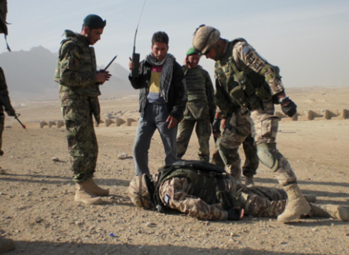 Τραυματίστηκε υπαξιωματικός στην Ελληνική Δύναμη Αφγανιστάν   Newsit.gr