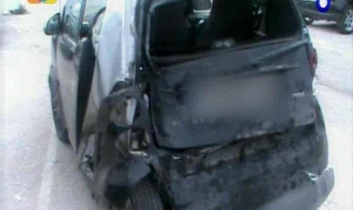 Τι λέει στην Τατιάνα αυτόπτης μάρτυρας του τροχαίου του Τ. Πρωτόπαπα – Δες το αυτοκίνητο μετά την σύγκρουση | Newsit.gr