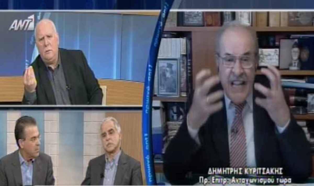 Εκτός εαυτού ο καλεσμένος του Γιώργου Παπαδάκη! | Newsit.gr