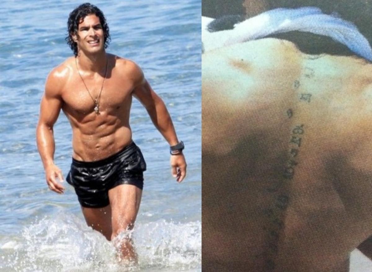 Τι γράφει το τατουάζ στην πλάτη του Νίκου Αναδιώτη; | Newsit.gr