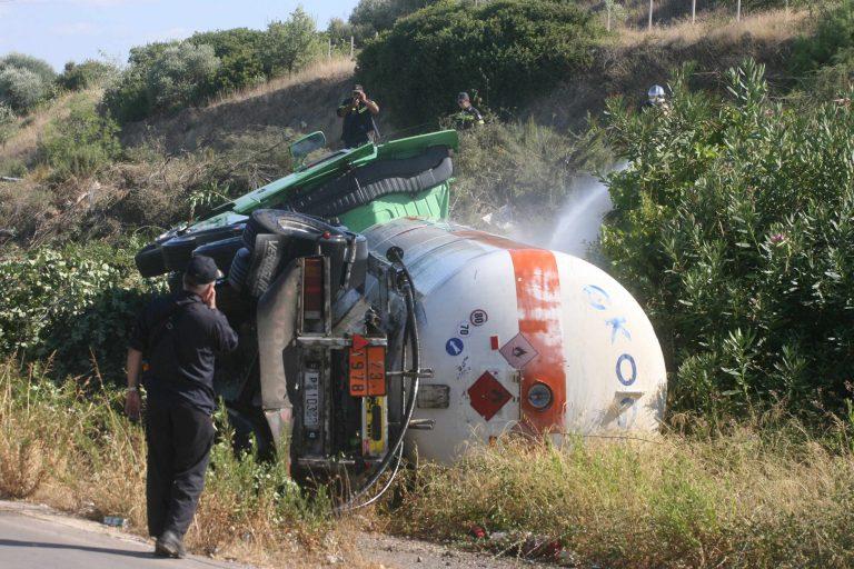Τροχαίο με ανατροπή βυτιοφόρου στη Φθιώτιδα – Νεκρός ο οδηγός – Κλειστή η εθνική οδός στην Αρκίτσα | Newsit.gr