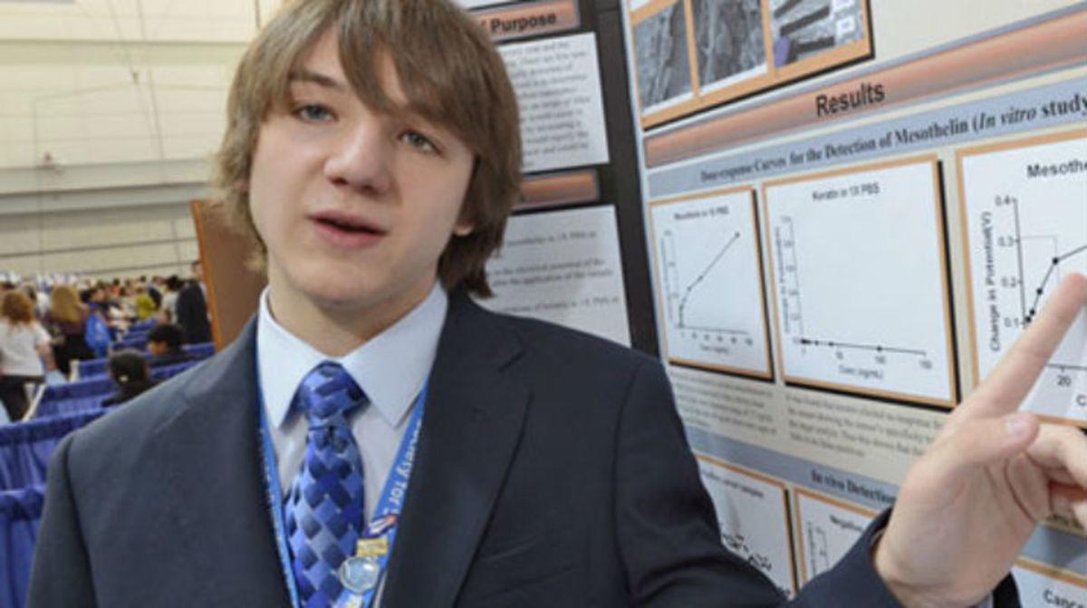 15χρονος ανακάλυψε ένα τεστ για την έγκαιρη διάγνωση του καρκίνου στο πάγκρεας   Newsit.gr