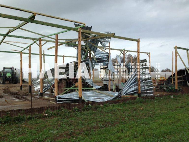 Ανεμοστρόβιλος και πλημμύρες στον Πύργο! ΦΩΤΟ & ΒΙΝΤΕΟ | Newsit.gr