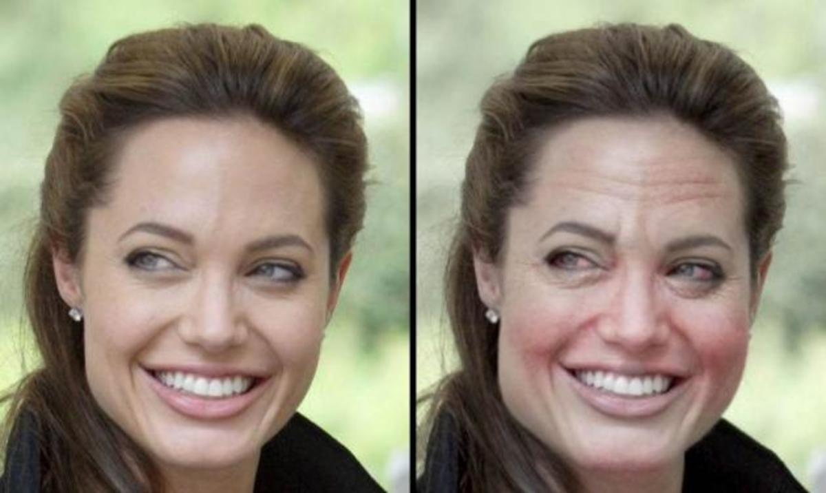 Α. Jolie, Madonna, D.Beckham: Δες πως θα είναι σε 10 χρόνια αν αρχίσουν το ποτό! | Newsit.gr