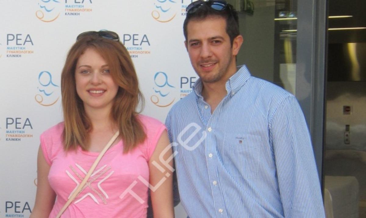 Α. Ανυφαντή: Στο σπίτι με το νεογέννητο γιο της! Φωτογραφίες | Newsit.gr