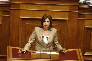 Αίτημα για άρση της ασυλίας της Άννας Μισέλ Ασημακοπούλου διαβιβάστηκε στη Βουλή