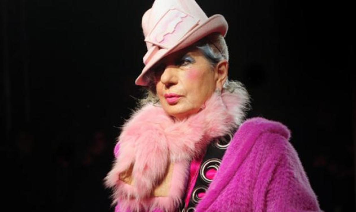 Πέθανε η μεγάλη μορφή της μόδας Anna Piaggi   Newsit.gr