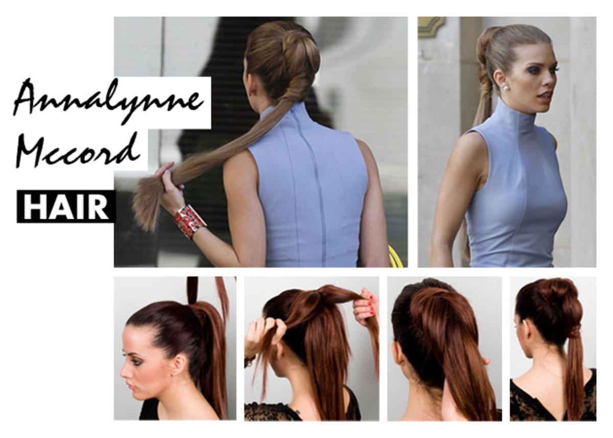 Εσύ μας το ζήτησες! Πώς να κάνεις την κοτσίδα της AnnaLynne McCord! | Newsit.gr