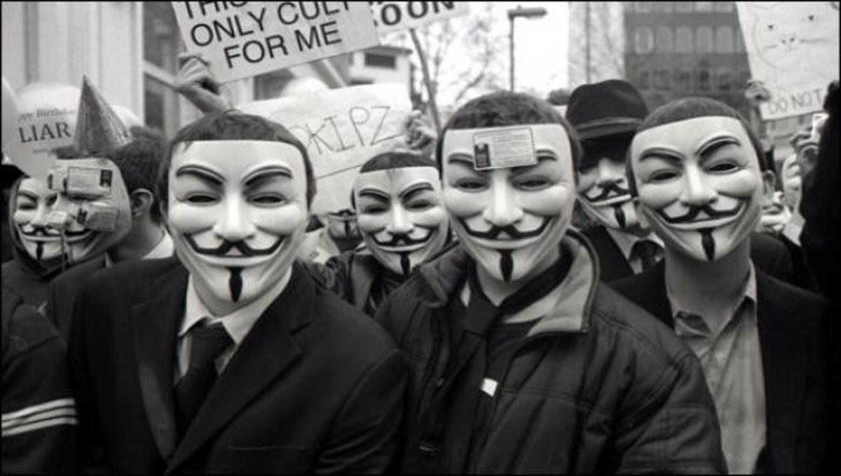Οι Anonymous υπέκλεψαν και δημοσίευσαν συνομιλίες του FBI. | Newsit.gr