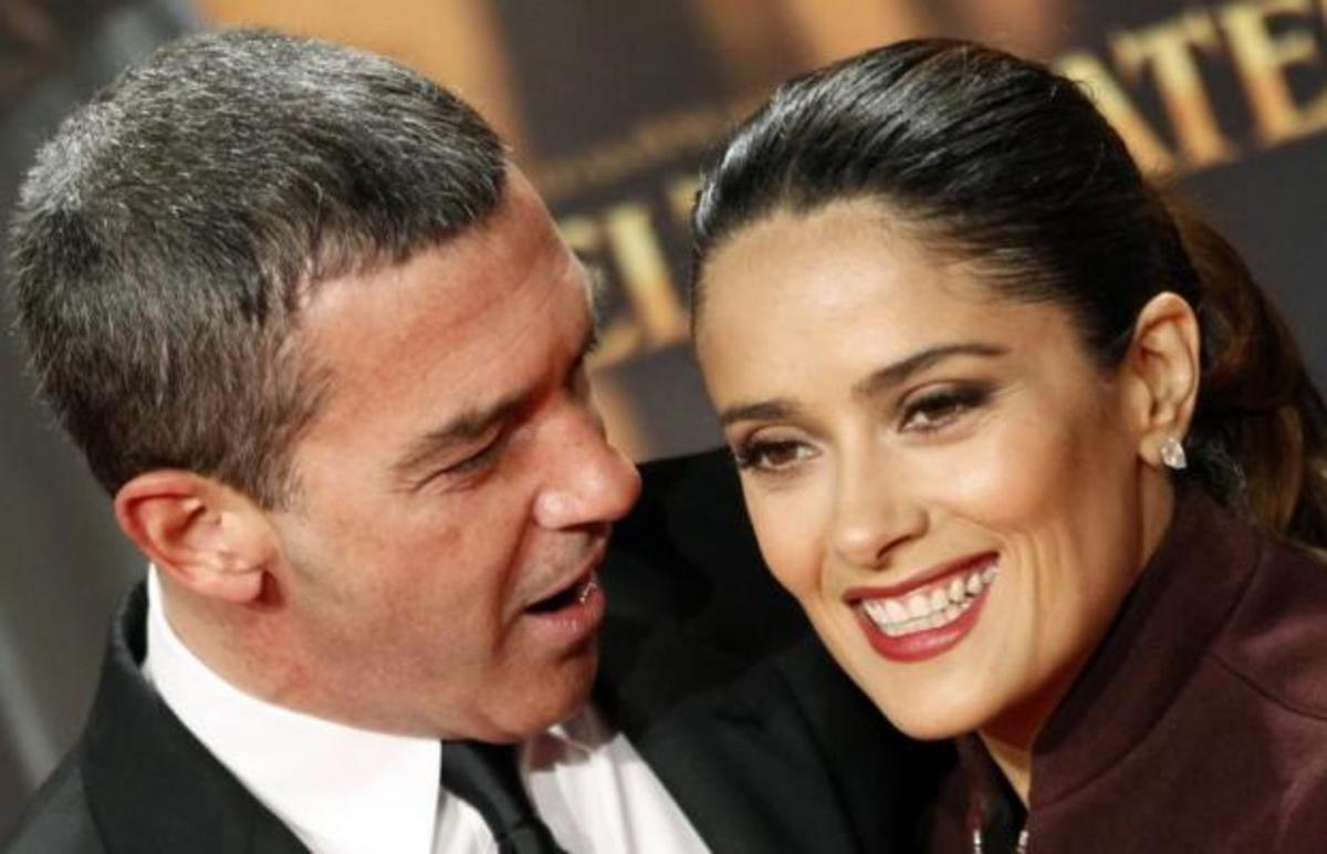 Salma Hayek: Ο Antonio έσωσε την καριέρα μου | Newsit.gr