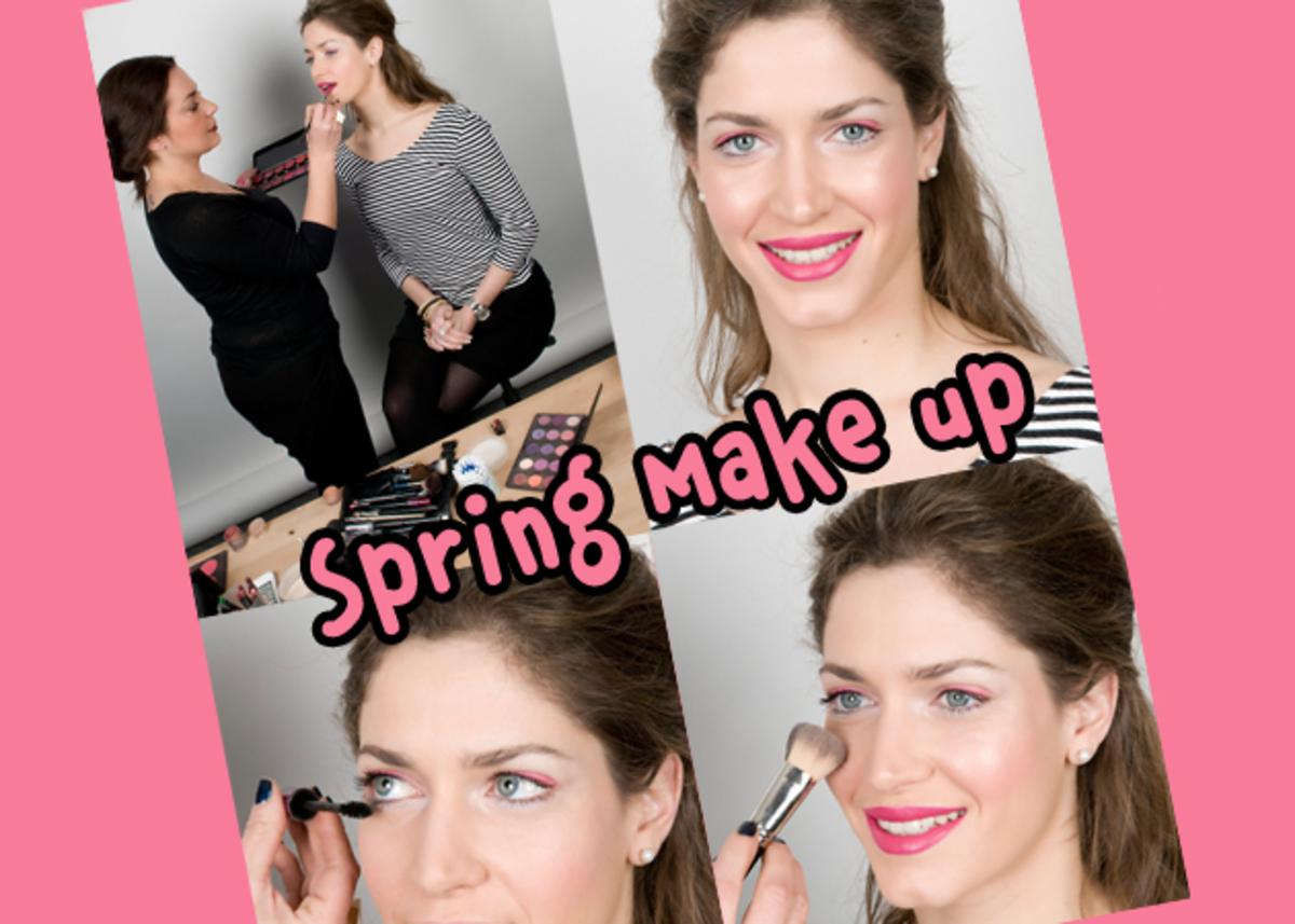 Πώς να κάνεις το ανοιξιάτικο make up της όμορφης χορεύτριας του Dancing! Από την Ε. Πρωτοψάλτη!   Newsit.gr