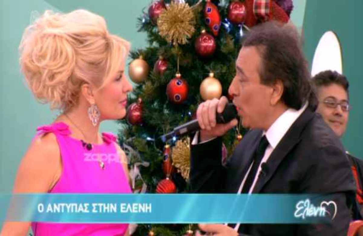 Το πάρτι της Ελένης για τα Χριστούγεννα παρέα με τον Αντύπα!   Newsit.gr