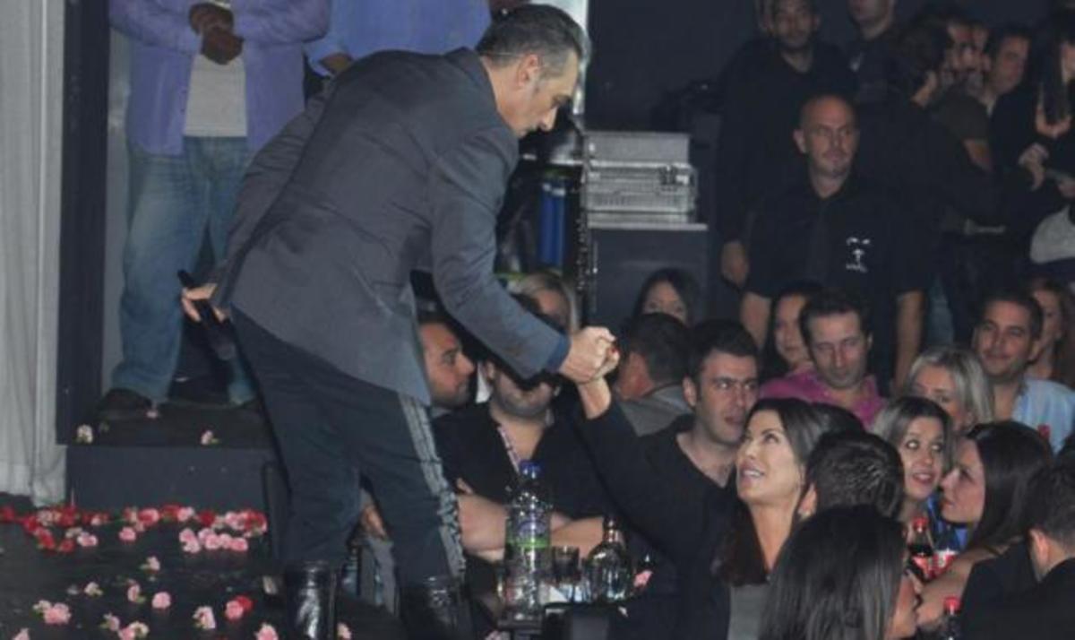 Η Α. Δημητρίου διασκέδασε στον Νότη Σφακιανάκη! Φωτογραφίες | Newsit.gr