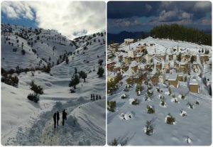 Ποιές Άλπεις; Εκπληκτικό βίντεο από drone στα «κατάλευκα» Ανώγεια!