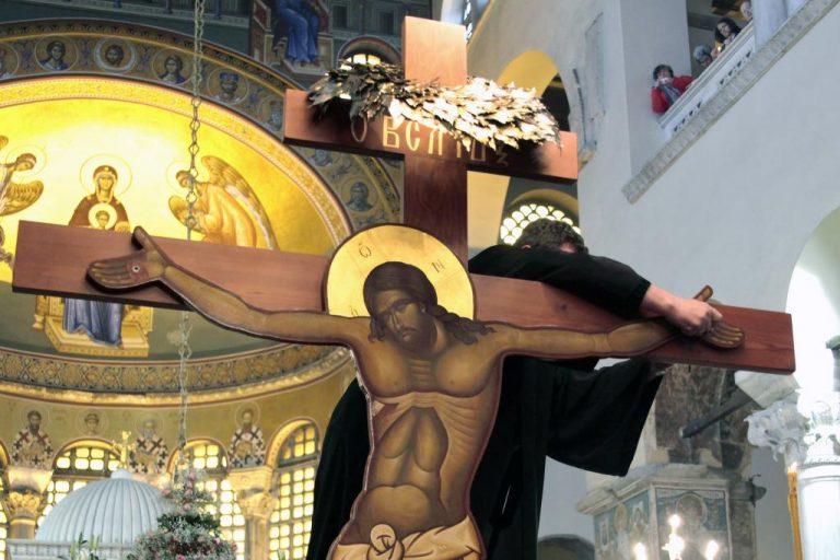 Θεσσαλονίκη: Αποκαθήλωση στον Άγιο Δημήτριο – ΦΩΤΟ   Newsit.gr