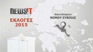 Αποτελέσματα Εκλογών 2015: Νομός Ευβοίας