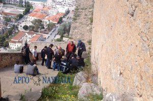 Ναύπλιο: Μαθήτρια έπεσε στα σκαλιά του Παλαμιδίου [vid]