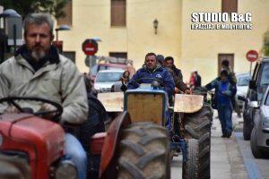 Απεργία: Συλλαλητήριο με… τρακτέρ στο Άργος [pics]