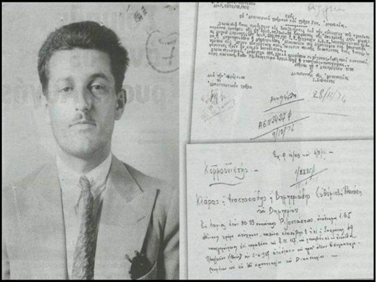 Άρης Βελουχιώτης: Με κοστούμι στον απόρρητο φάκελο της Ασφάλειας | Newsit.gr