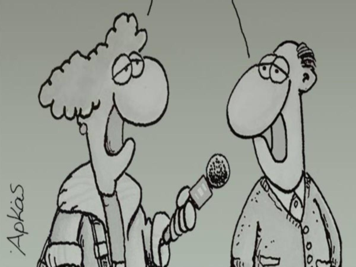 Debate πολιτικών αρχηγών: Το ξεκαρδιστικό σκίτσο του Αρκά! | Newsit.gr