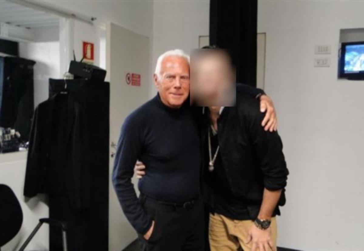 Άφησε τα τηλεοπτικά πάνελ της Ελλάδας και έγινε μοντέλο του Armani! | Newsit.gr