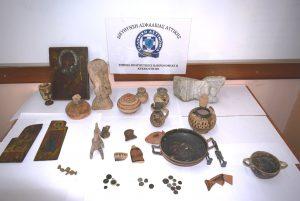 Ραντεβού αρχαιοκάπηλων σε κεντρικό ξενοδοχείο της Αθήνας για μνημεία 200.000 ευρώ!