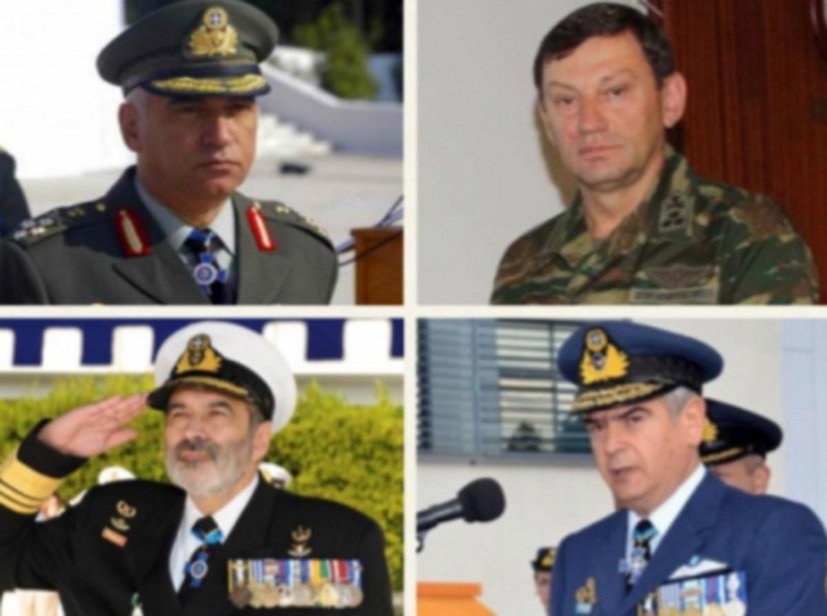 «Κρίσεις τον Μάρτιο» λένε από την κυβέρνηση – Μένουν οι Αρχηγοί στη θέση τους; | Newsit.gr