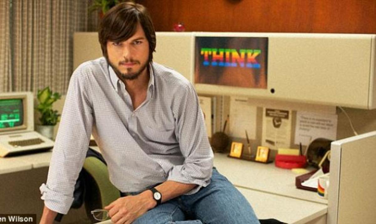 Ashton Kutcher: Η πρώτη του φωτογραφία ως αφεντικό της Apple! | Newsit.gr