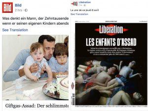 Τα παιδιά και τα αποπαίδια του Άσαντ – Σπαρακτικό πρωτοσέλιδο της Liberation