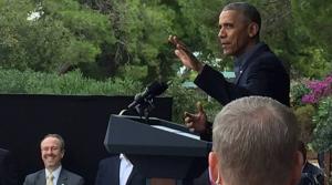 Η κρυφή ομιλία Ομπάμα – Που και γιατί έγινε [pics, vids]