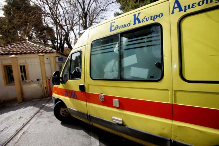Ρόδος: Ασθενοφόρο συγκρούστηκε με ελάφι | Newsit.gr