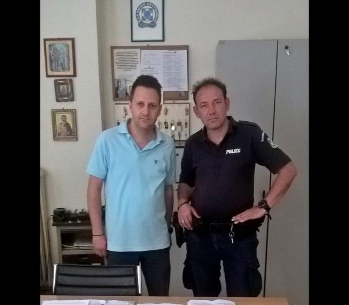 Αστυνομικός παράδειγμα προς μίμηση έσωσε από βέβαιο πνιγμό 60χρονη