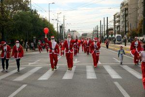 Ποιοι δρόμοι είναι κλειστοί για το Athens Santa Run
