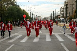 Athens Santa Run: Κυκλοφοριακές ρυθμίσεις στο κέντρο της Αθήνας