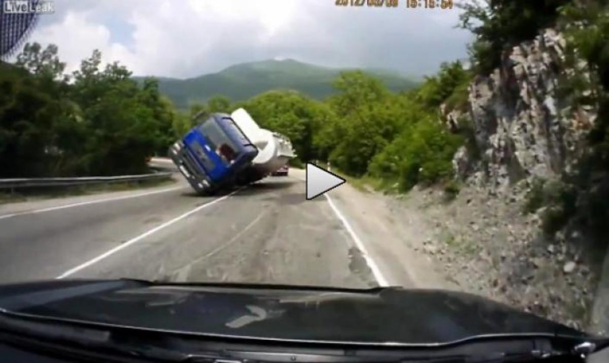 Σοκαριστικό ατύχημα! Δείτε το βίντεο! | Newsit.gr