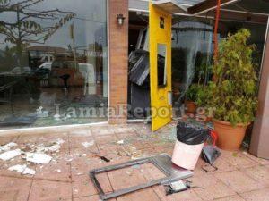 Φθιώτιδα: Διπλή ανατίναξη ΑΤΜ τα ξημερώματα στις Λιβανάτες!