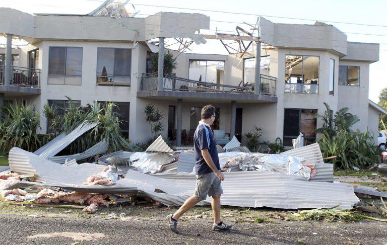 Καταστροφικός τυφώνας στην Αυστραλία | Newsit.gr