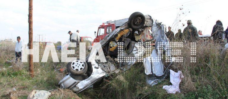 Ηλεία: Μετωπική θανάτου νταλίκας με αυτοκίνητο – Δείτε το βίντεο! | Newsit.gr