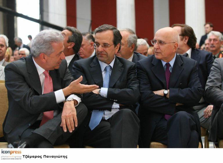 Και επίσημα Αβραμόπουλος και Δήμας αντιπρόεδροι της ΝΔ   Newsit.gr