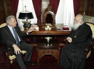 Αβραμόπουλος σε Ιερώνυμο: Την ευλογία σου για τα δύσκολα που έρχονται
