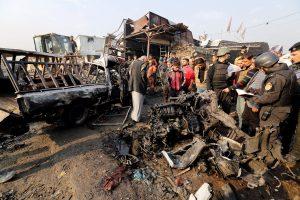 Έργο τζιχαντιστών το μακελειό στη Βαγδ'ατη με τους 13 νεκρούς