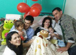 Το θαύμα της ζωής: Γέννησε ενώ ήταν σε κώμα και λίγους μήνες μετά, συνήλθε! [pics, vid]