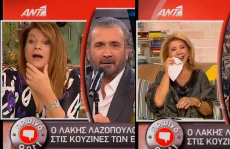 Η αντίδραση της Αργυρώς όταν είδε τον Λάκη να την σατιρίζει – Η Πατέρα έκλαψε από τα γέλια!   Newsit.gr