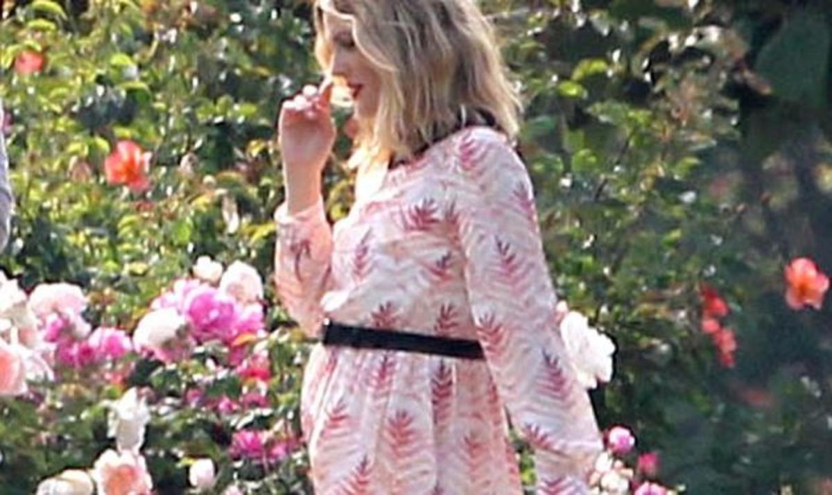Drew Barrymore: Το ανοιξιάτικο φόρεμα που αποκαλύπτει την εγκυμοσύνη της! | Newsit.gr