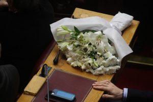 Πολιτικό μνημόσυνο στην Βουλή για τον Βαγγέλη Μπασιάκο [pics]