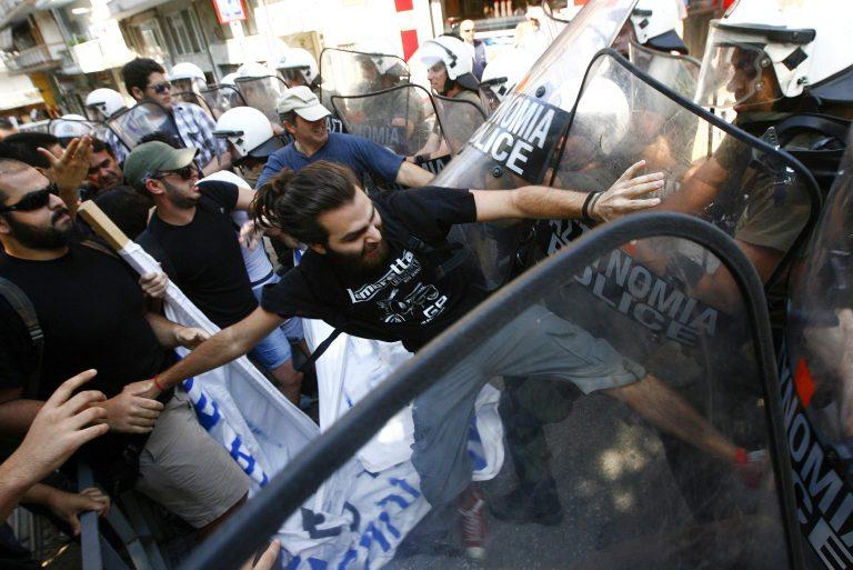 Κύπριοι και Χρυσαυγίτες κατά «γκρίζου λύκου» – Ένταση στο τουρκικό προξενείο στη Θεσσαλονίκη   Newsit.gr
