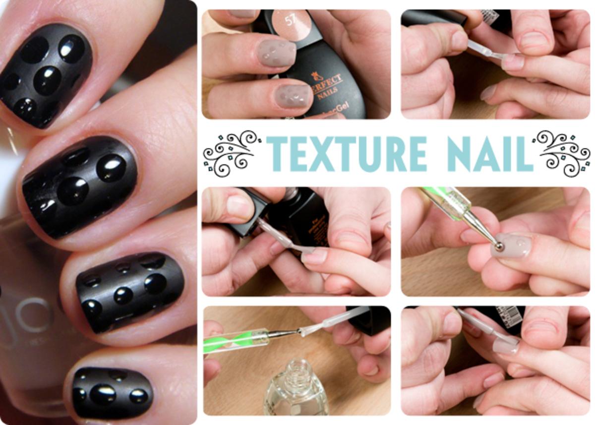 Two textures manicure! Πώς να κάνεις το μανικιούρ των δύο υφών! | Newsit.gr